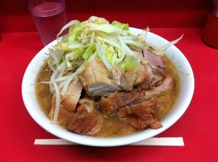 20120221ラーメン二郎環七一之江店③