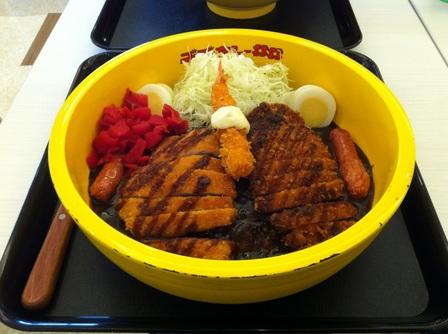 20121014 ゴーゴーカレー丼丼③