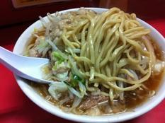 20121113 ラーメン二郎 上野毛店⑤